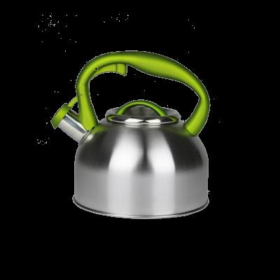 Czajnik nierdzewny z zieloną rączką 2,5l Karl HAUSMANN - 1