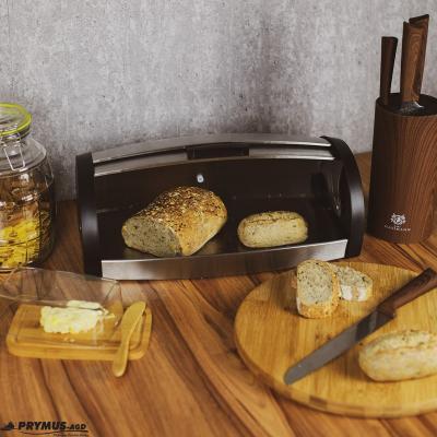 Chlebak ze stali nierdzewnej TOPFANN 43x15cm TOPFANN - 2