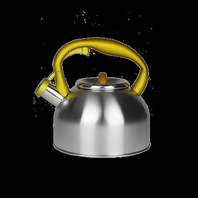 Czajnik nierdzewny z żółtą rączką 2,5l Karl HAUSMANN - 1