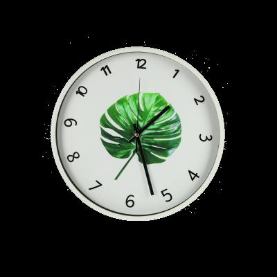 Zegar ścienny LIŚĆ 33cm