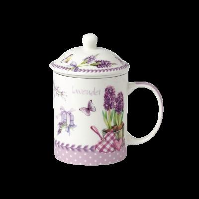 Kubek ceramiczny z zaparzaczem LILLE 330ml
