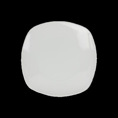 Talerz deserowy z porcelany KWADRAT 20,5cm