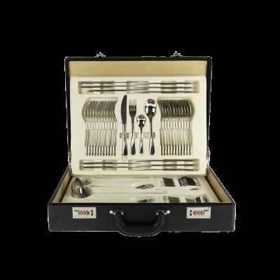 Komplet sztućców w walizce GERLACH CELESTIA 68-elementowy