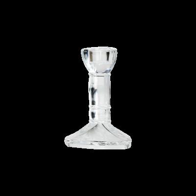 Świecznik szklany 10cm