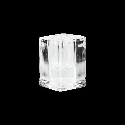 Świecznik szklany 6cm