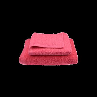 Ręcznik malinowy róż RIMINI 50X100 - 1