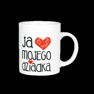 Kubek prezent z napisem DLA DZIADKA 300ml