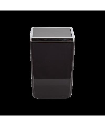 Kosz łazienkowy czarny TOSKANIA 6l Stalman - 1