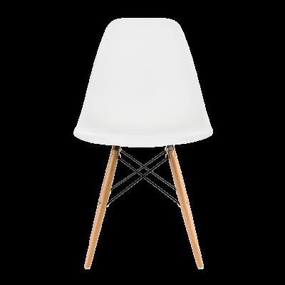 Krzesło biurowe DSW białe