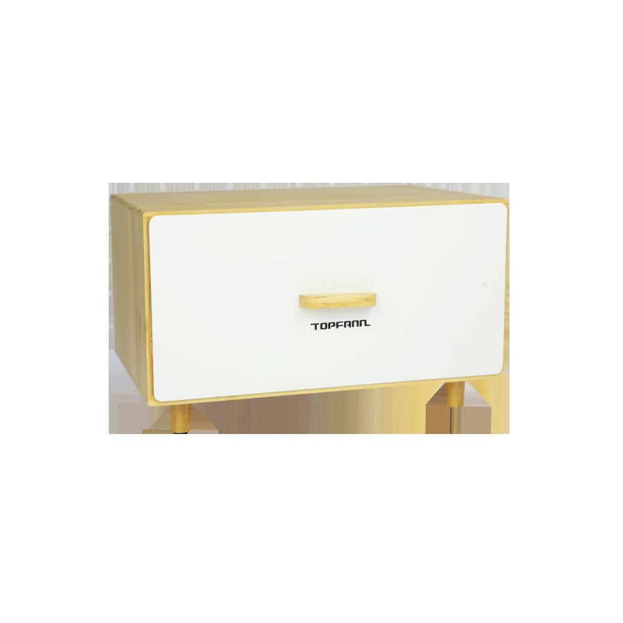 Chlebak z szufladą TOPFANN biały