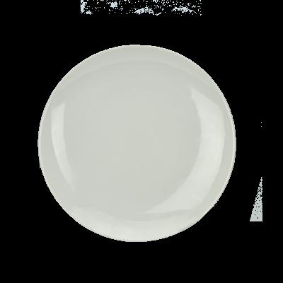 Talerz deserowy biały 20 cm