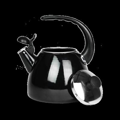 Czajnik emaliowany OSCAR czarny 2,5l