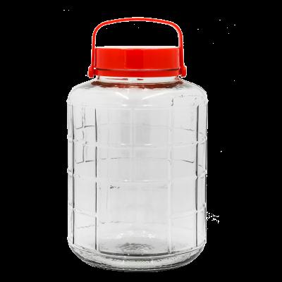 Słój na przetwory z plastikową rączką 12l