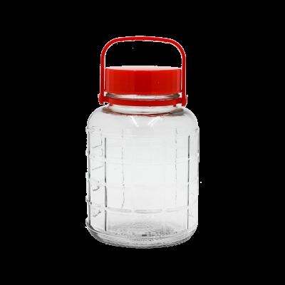 Słój na przetwory z plastikową rączką 2l