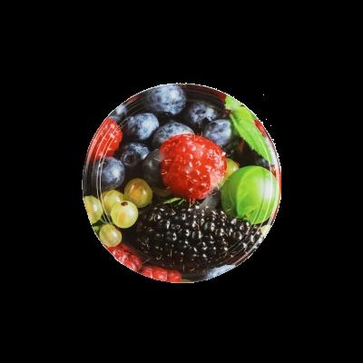Wieczko do słoika fi66 4 zaczepy owoce/warzywa