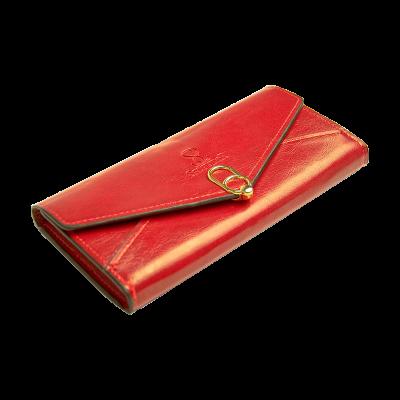 Portfel A19-1394-B czerwony