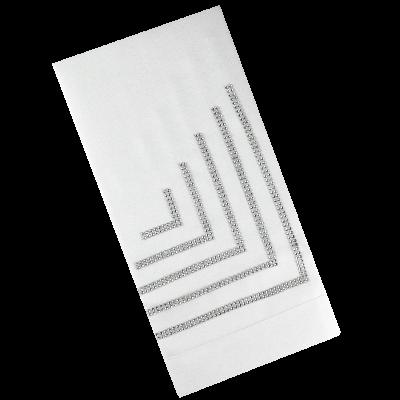 Bieżnik biały CRYSTAL 70x150 cm