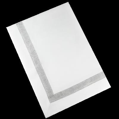 Obrus Swarovski 110X160 cm biały