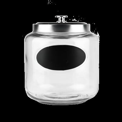 Pojemnik szklany 4l z etykietą