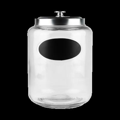 Pojemnik szklany 5l z etykietą