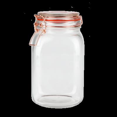 Pojemnik szklany z klamerką TOPFANN 1,5 l