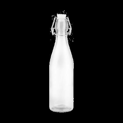 Butelka szklana z klamerką 500 ml