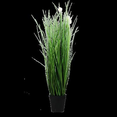 Sztuczna kwitnąca trawa w doniczce 60 cm