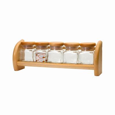 Półka z 5 szklanymi pojemnikami PRESIDENT LINE