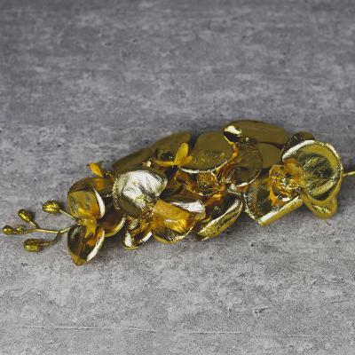Storczyk gałązka 78 cm złota