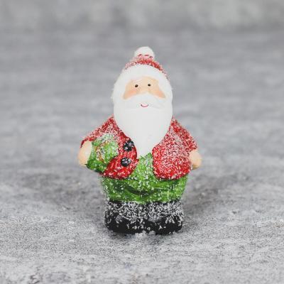Mikołaj z ceramiki 10cm mały