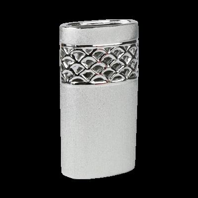 Wazon ceramiczny 24,5cm srebrny