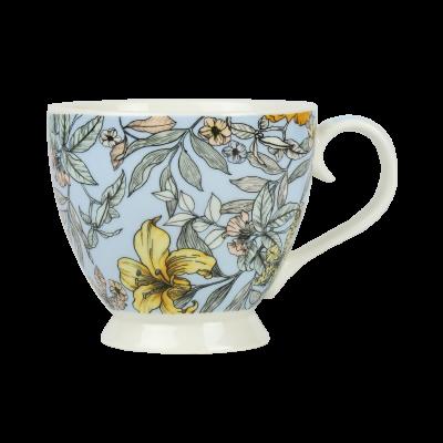 Kubek porcelanowy flowers 470 ml