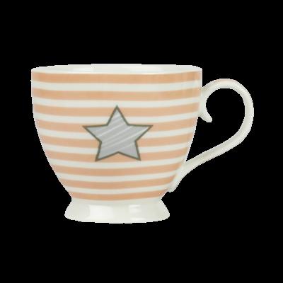 Kubek porcelanowy gwiazdka 470 ml