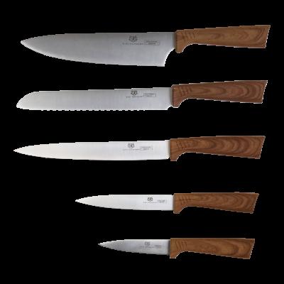 Zestaw noży w bloku MARCO 6-elementowy