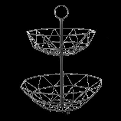 Koszyk na owoce 2-poziomowy