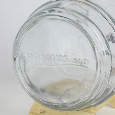 Szklana beczka na stojaku z kranikiem 4 l