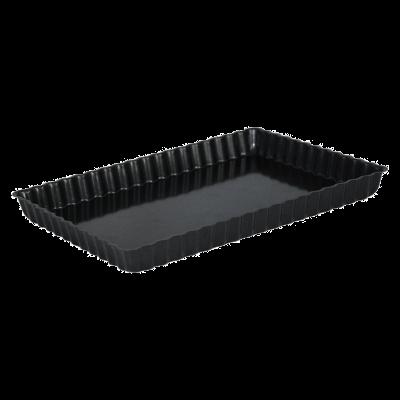 Forma prostokątna do tarty z wyjmowanym dnem 31x21x3 cm