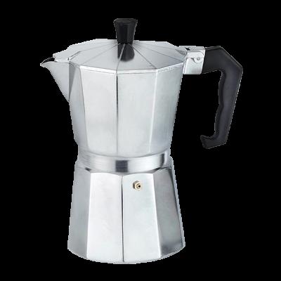 Kawiarka aluminiowa TOPFANN 300 ml srebrna