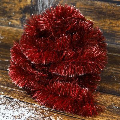 Łańcuch choinkowy ⌀100 mm 6m czerwony