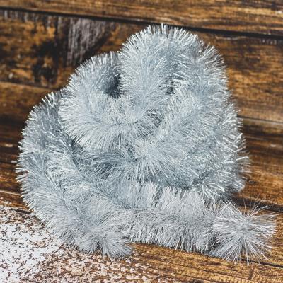 Łańcuch choinkowy ⌀100 mm 6m srebrny