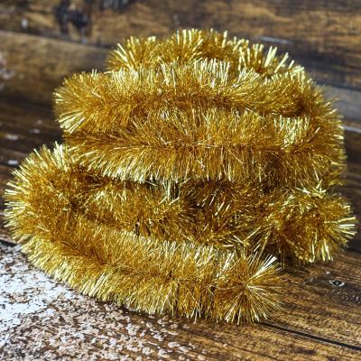 Łańcuch choinkowy ⌀70 mm 6m złoty