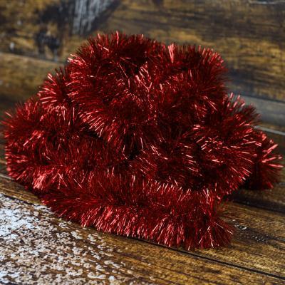 Łańcuch choinkowy ⌀70 mm 6m czerwony