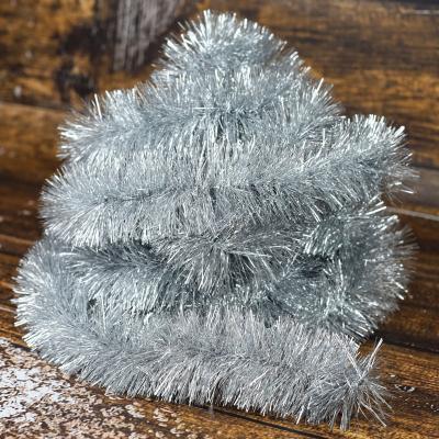 Łańcuch choinkowy ⌀70 mm 6m srebrny