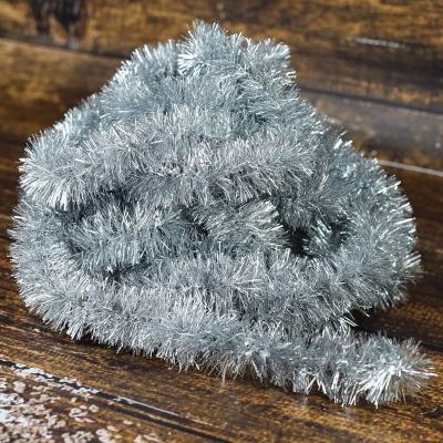 Łańcuch choinkowy ⌀40 mm 6m srebrny