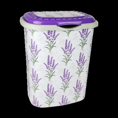 Kosz na bieliznę lavenda 41 l
