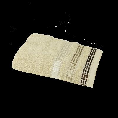 Ręcznik Luxury beżowy 50x90 cm