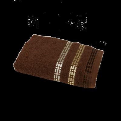 Ręcznik Luxury brązowy 50x90 cm