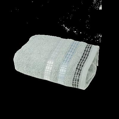Ręcznik Luxury szary 50x90 cm