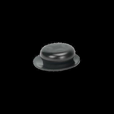 Gałka do pokrywy 6,5 cm czarna