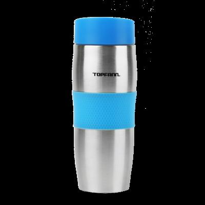 Kubek termiczny TOPFANN 380 ml niebieski